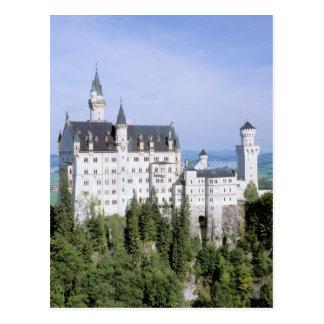 Castelo de Europa, Alemanha, Neuschwanstein, Cartão Postal