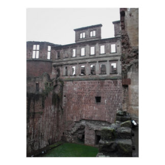 Castelo de Heidelberg Pôster