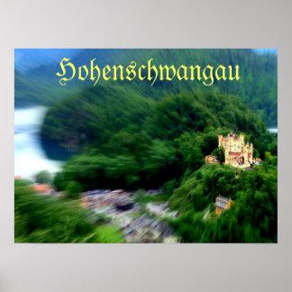 Castelo de Hohenschwangau Impressão
