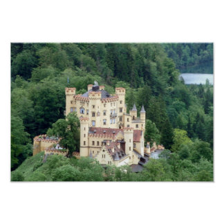 Castelo de Hohenschwangau Poster