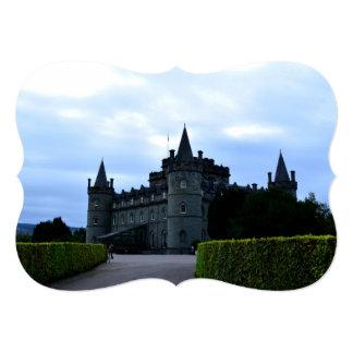 Castelo de Inveraray em Argyll Convite Personalizados