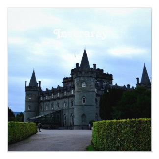Castelo de Inveraray em Argyll Convite