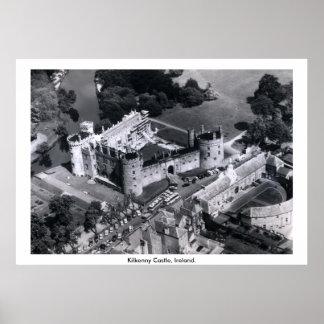 Castelo de Ireland, Kilkenny, rio Nore Posters