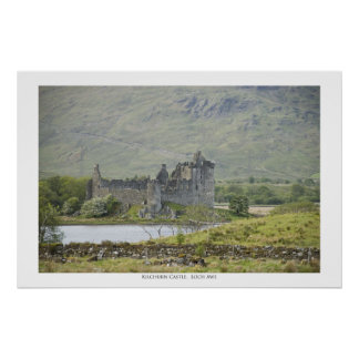 Castelo de Kilchurn Pôster