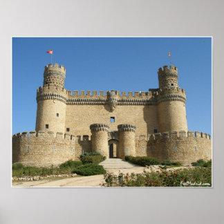 Castelo de Manzanares Pôster