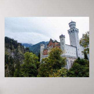 Castelo de Neuschwanstein Impressão