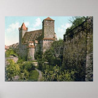 Castelo de Nuremberg Poster