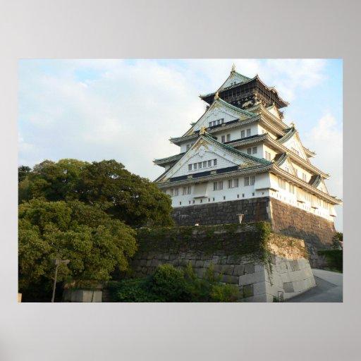 Castelo de Osaka Pôsteres
