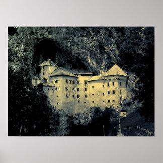 Castelo de Predjama Impressão