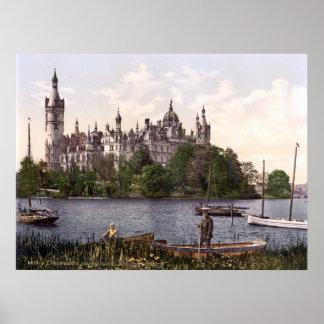 Castelo de Schwerin Posteres