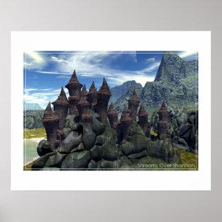 Castelo de Shroom Poster