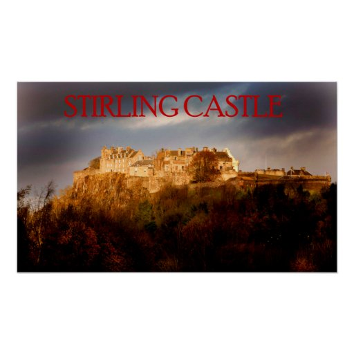 castelo de stirling posteres