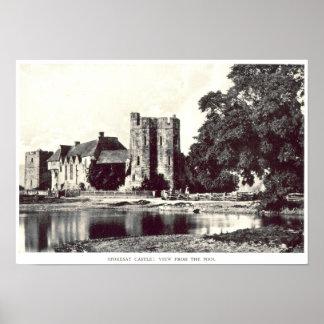 Castelo de Stokesay Poster