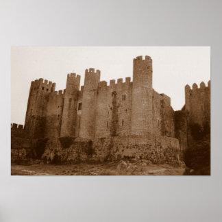 Castelo de Templar Pôster