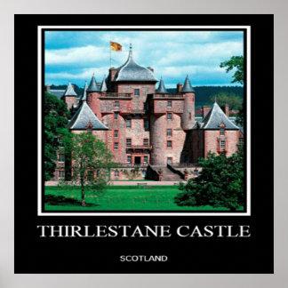 Castelo de Thirlestane, Scotland, poster