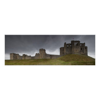 Castelo de Warkworth Poster