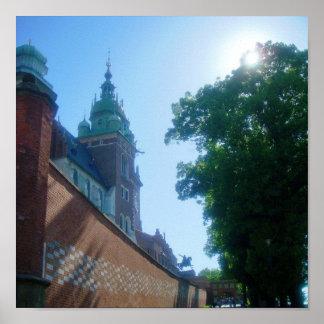 Castelo de Wawel Poster