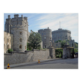 Castelo de Windsor Pôster