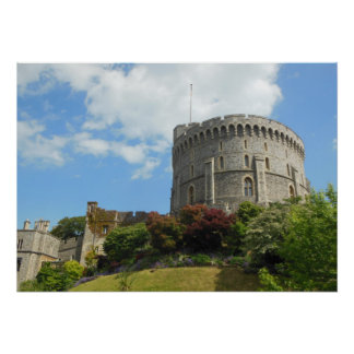 Castelo de Windsor Poster