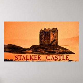 castelo do assediador pôsteres