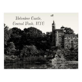 Castelo do Belvedere, Central Park NYC Cartão Postal