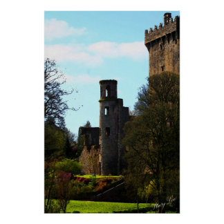 Castelo do Blarney, Ireland Impressão