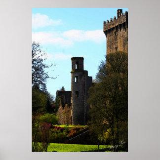 Castelo do Blarney, Ireland Poster