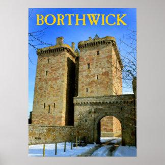 castelo do borthwick pôster