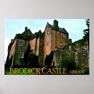 castelo do brodick pôster
