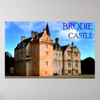 castelo do brodie impressão