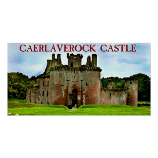 castelo do caerlaverock poster