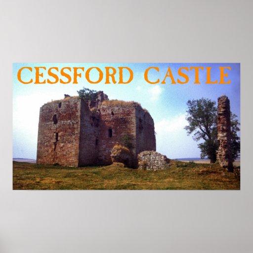 castelo do cessford pôsteres