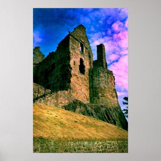 castelo do dirleton pôsteres