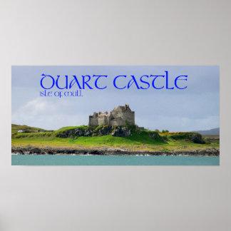 castelo do duart poster