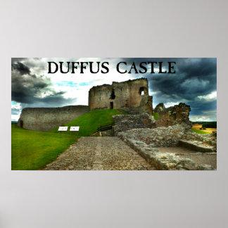 castelo do duffus impressão