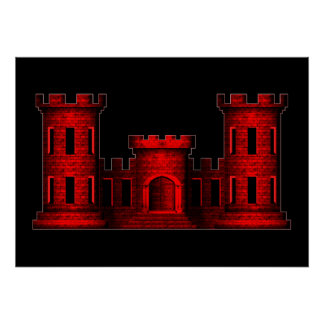 Castelo do engenheiro pôster
