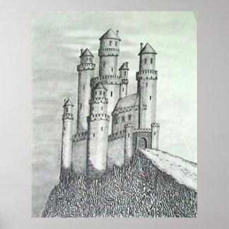 Castelo do lápis poster