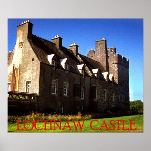 castelo do lochnaw pôsteres