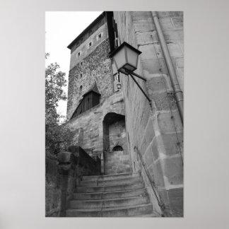 castelo do nurnburg impressão