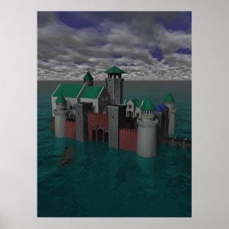 Castelo do oceano poster