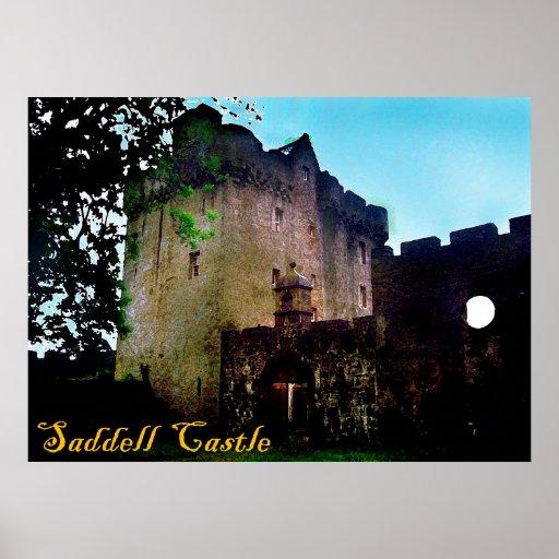 castelo do saddell posters
