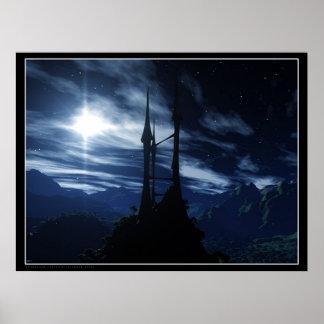 Castelo do Stargazer Poster