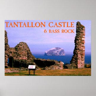 castelo do tantallon & rocha do baixo
