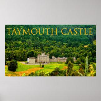 castelo do taymouth poster