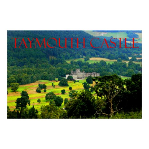castelo do taymouth posteres