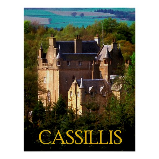 castelo dos cassillis pôsteres