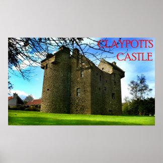 castelo dos claypotts impressão