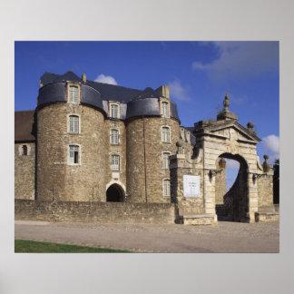 Castelo e museu, Boulogne, Pas-de-Calais, Poster