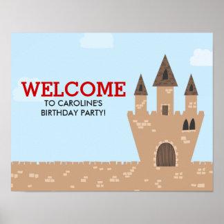 Castelo Enchanted Poster