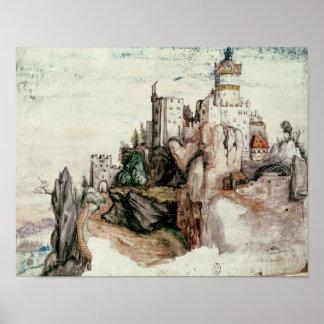 Castelo fortificado poster